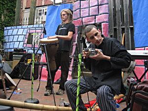 True Home, Courtyard Gallery Open Mic